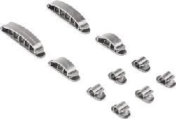 HAMA Easy Clip - Kabelbefestigung (Silber)