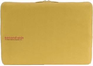 """TUCANO Second Skin Microfibra Script MacBook Pro 15"""", jaune -"""