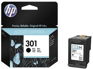 HP INK CARTRIDGE 301 BLACK - Tintenpatrone (Schwarz)