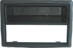 AIV 1 DIN masque - Cache d'autoradio (Noir)
