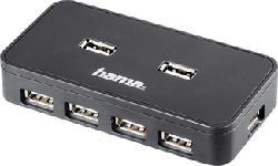 HAMA 39859 - USB-2.0-Hub 1:7 (Noir)
