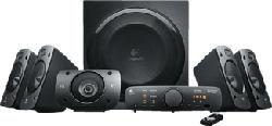 LOGITECH Surround Sound Speakers Z906, nero, 500 W - Altoparlanti per PC (Nero)