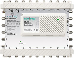 AXING DiSEqC SPU 910-09 - Multischalter (Grau)