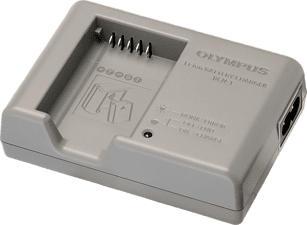 OLYMPUS BCN‑1 - Caricabatterie (Grigio)