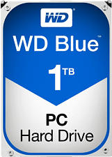 WESTERN DIGITAL Blue (Desktop), 1TB - Disco rigido (HDD, 1 TB, Blu)
