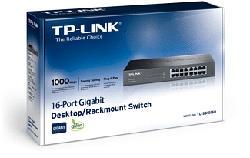 TP-LINK TL-SG1016D - Revirement (Noir)