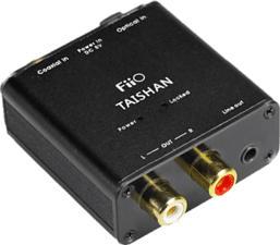 FIIO TAISHAN D03K - Coaxial/Optical zu analog Audio Converter (Schwarz)