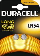 DURACELL LR54 ELECTRONICS ALKALINE 2PCS - Knopfzelle (Silber)