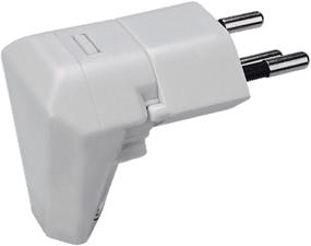 STEFFEN Steko - Fiche coudée rotatif (Blanc)
