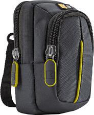 CASE-LOGIC LOGIC DCB302GY - Professionelle Kompaktkamera-Tasche mit Aufbewahrungsfach (Grau)