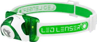 LED LENSER SEO3 - Lampe frontale (Vert)