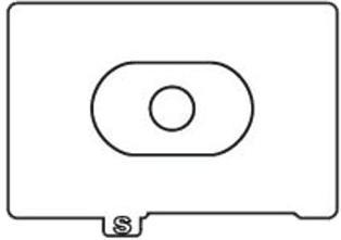 CANON EC-S - Mattscheibeneinsatz (Transparent)