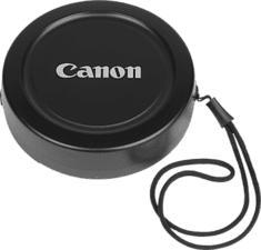 CANON 17 - Objektivkappe (Schwarz)