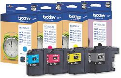 BROTHER LC-127XL Value Pack - Cartuccia di inchiostro (multicolore)