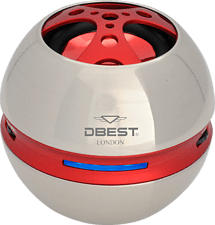 SILVA SCHNEIDER PS-4501 - Bluetooth Lautsprecher (Rot)