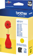 BROTHER LC121Y YELLOW -