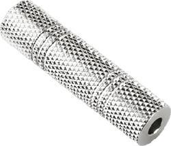 HAMA AUX3 F/F - 3,5-mm-Klinken-Kupplung (Silber)