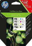 MediaMarkt HP C2P43AE COMBOPACK 950XL/951XL CMYBK - Tintenpatrone (Schwarz, gelb, cyan, magenta)