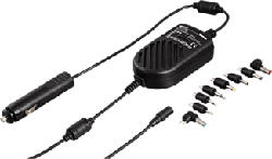 XAVAX Appareil d'alimentation pour voiture 3000 mA - Adaptateur électrique (Noir)