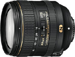 NIKON AF-S DX NIKKOR 16-80mm f/2.8-4E ED VR - Objectif zoom