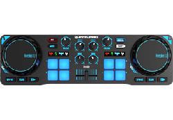 HERCULES DJ Control Compact - DJ Controller (Schwarz)