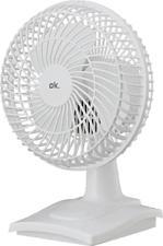 OK OTF 153 W - Ventilateur de table (Blanc)