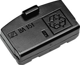SENNHEISER BA 151 - Batteria ricaricabile (Nero)