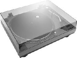 LENCO L-3808 - Plattenspieler (Grau)