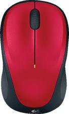 LOGITECH M235 - Maus (Rot)