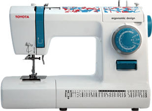 TOYOTA ECO34C - Nähmaschine (Weiss)