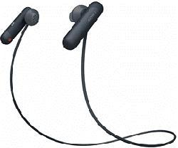 SONY WI-SP500 - Bluetooth Kopfhörer (In-ear, Schwarz)