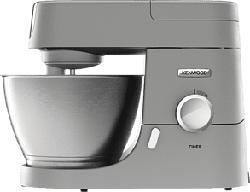 KENWOOD Chef KVC3110S + AT337 - Küchenmaschine + Kunststoff Mixaufsatz (Silber)
