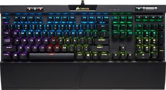 CORSAIR K70 RGB MK2 RAPIDFIRE MX - Clavier de jeu (Noir)