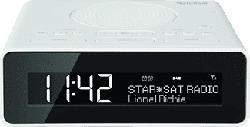 TECHNISAT DIGITRADIO 51 - Radiosveglia (DAB+, FM, Bianco)