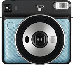 FUJIFILM Instax SQUARE SQ6 - Sofortbildkamera Aqua Blue