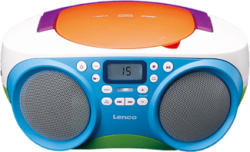 LENCO SCD-41 - CD-Radio portable (FM, Multicouleur)