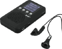 SOUNDMASTER DAB170SW Mini - Radio tascabile (DAB+, FM, Nero)