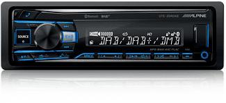ALPINE UTE-204DAB - Autoradio (Schwarz)