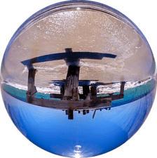 ROLLEI Lentille sphérique 90mm - Sphère en verre (Transparent)
