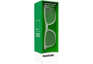 PANTONE N° Three Crystal Mat - Lesebrille (Weiss/Transparent)