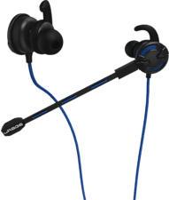 URAGE ChatZ - Écouteurs de jeu (Noir/Bleu)