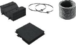 SIEMENS LZ10DXU00 STARTERSET - Kit di primo montaggio a ricircolo (Nero)
