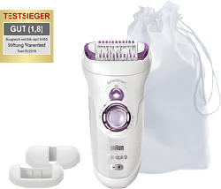 BRAUN Silk-épil 9 9/700 SensoSmart™ - Épilateur (Blanc/Violet)