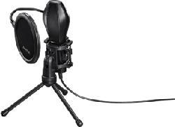 HAMA MIC-USB Stream - Mikrofon (Schwarz)