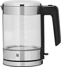 WMF KÜCHENminis - Glas-Wasserkocher (Transparent/Silber)