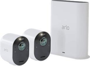 ARLO Ultra - Caméra de sécurité (UHD 4K, 3.840 x 2.160 pixels)