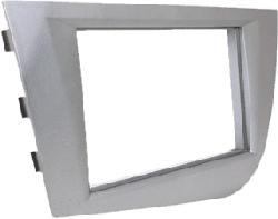 RTA 002.122-0 - Doppio DIN mascherina (Grigio)