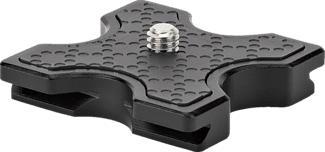 JOBY QR Plate 5K - QR Platte (Schwarz)