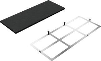 SIEMENS LZ10INT00 - Kit di primo montaggio a ricircolo (Nero/Argento)