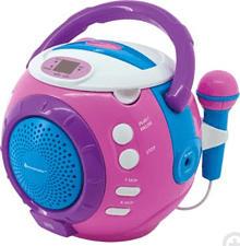 SOUNDMASTER KCD1600PI - Radiorecorder (, Pink)